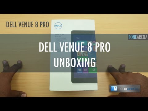 Dell Venue 8 Pro Unboxing, Setup and First Impressions