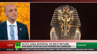 Egypt demands return of 'stolen' artifact