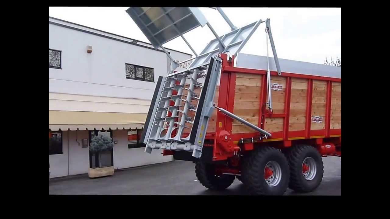 Rimorchi randazzo sistema di movimentazione idraulica for Rimorchi randazzo
