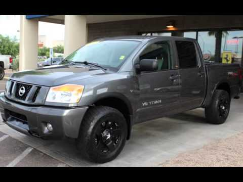 2012 nissan titan crew pro 4x for sale in phoenix az youtube. Black Bedroom Furniture Sets. Home Design Ideas