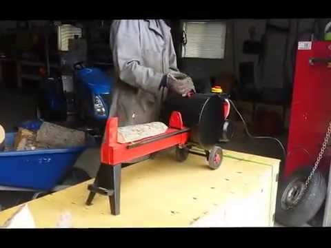 7 Ton Kinetic Electric Log Splitter