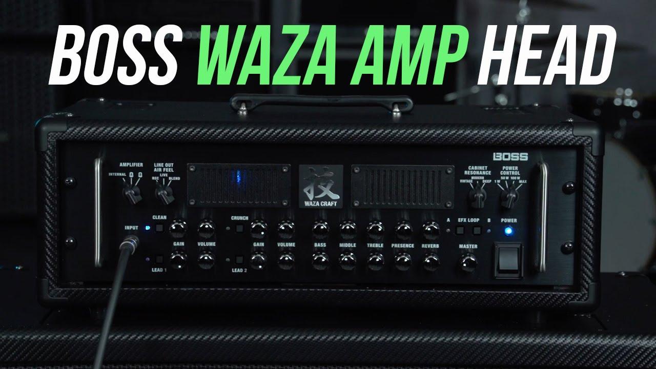 Boss Waza Amp Head And Waza Amp Cabinet 212