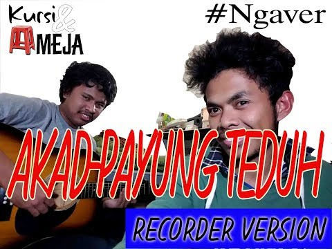 AKAD-Payung Teduh RECORDER COVER