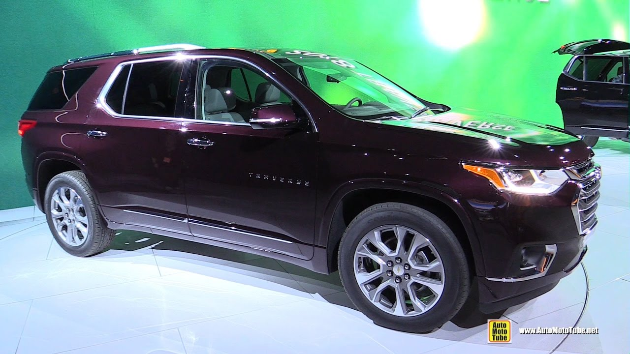 2018 chevrolet traverse interior. Exellent Interior 2018 Chevrolet Traverse  Exterior And Interior Walkaround Debut At 2017  Detroit Auto Show YouTube Inside Chevrolet Traverse Interior