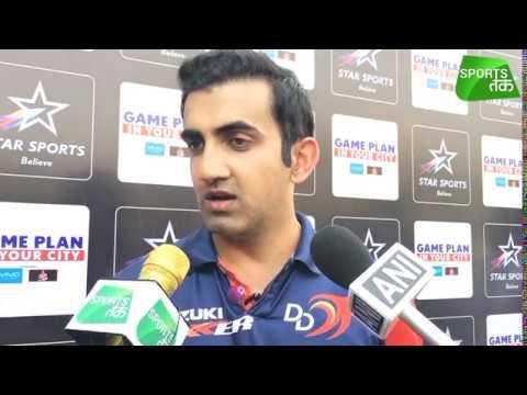 It's Always Good To Be Back:  Gautam Gambhir | Sports Tak