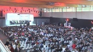 Siegerehrung der Bundessieger des 49. Bundeswettbewerbs Jugend forscht 2014 bei Würth