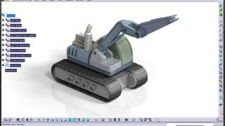 Catia V5 Tutorial|Machine Design|JCB|How to create and simulate an Excavator|Part 7