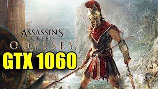 Assassins Creed Odyssey GTX 1060 6GB OC & i7 6700k | 1080p Custom Settings | FRAME-RATE TEST