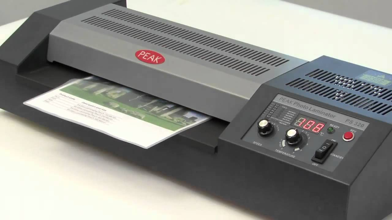 Vivid Peak Performance High Speed Pouch Laminator Youtube