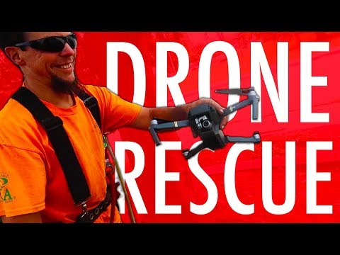DANGEROUS DRONE RESCUE MISSION!