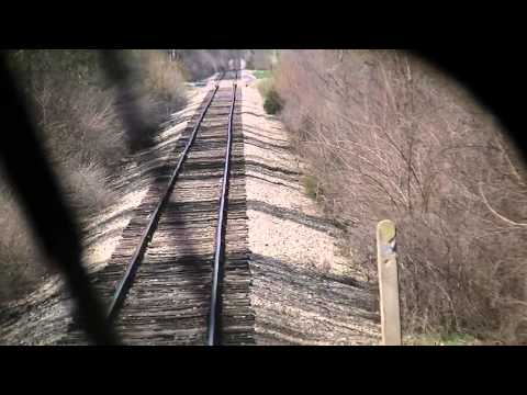 Locomotive cab ride in ITMZ 200, Fishers, Indiana