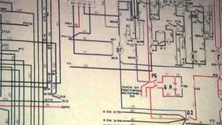 ТЭМ2 электр.схема  1.4 Зарядка АБ