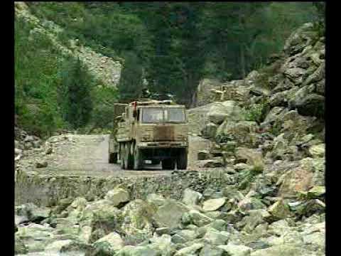 Role of Border Roads Organisation in Kargil war.