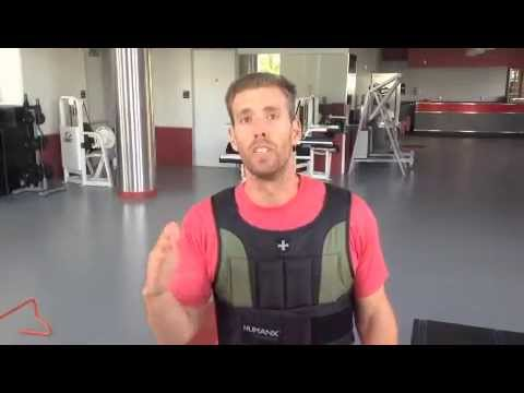 Basketball Players, Weight Vest, and a Jump Circuit