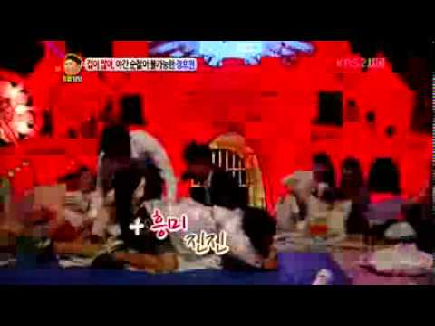 120702 - Sistar - Fear of ghosts__ (Funny moment) - Talk Show Hello.flv