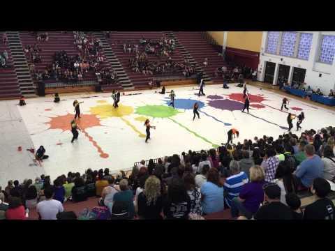 Miami Senior High School Winterguard SFWGA Championships 2015