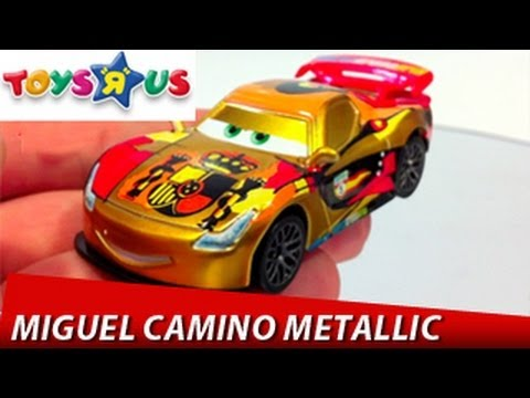Cars 2 miguel camino metallic finish toys r us mattel disney pixar diecast toys review youtube - Coloriage cars 2 miguel camino ...