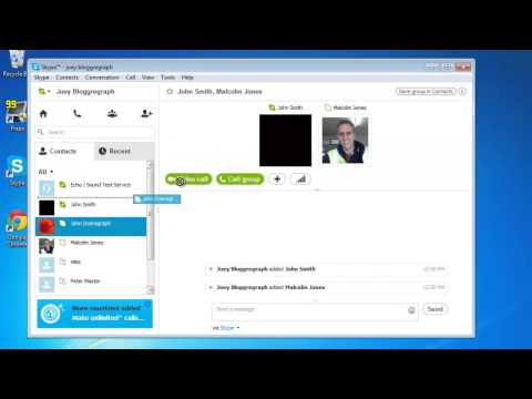 How To Do Conference Call Using Skype