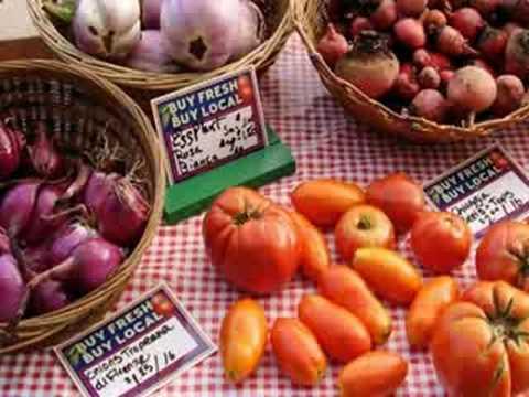 Scenes from Nebraska Farmers' Markets: Enjoy Locally Produced Food
