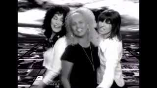 Cher Love Can Build a Bridge with Chrissie Hynde Neneh Cherry and Eric Clapton 1996