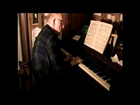 David Lodge Plays Bach's French Suite