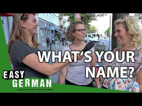 What's your name? | Easy German 216