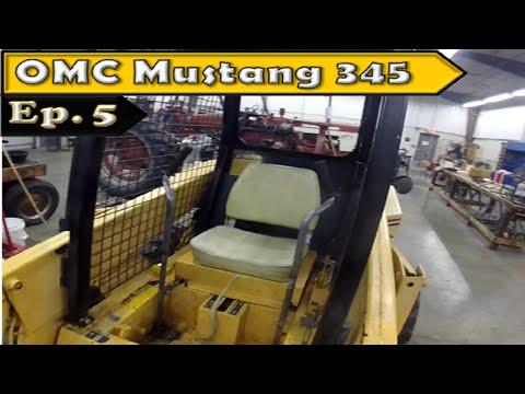 OMC Mustang 345 Skid Steer: No more T-Handle!