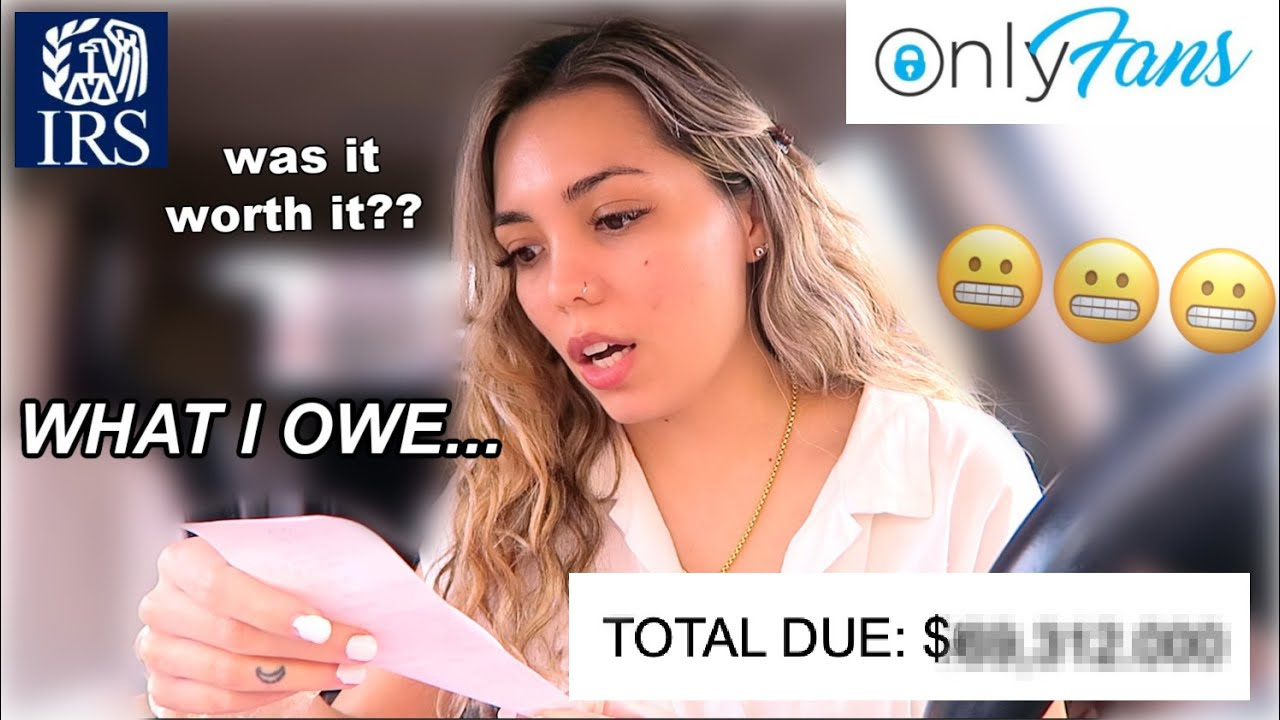 Paying OnlyFans TAXES for the FIRST TIME (with 14 streams of income) + how much money I REALLY OWE!