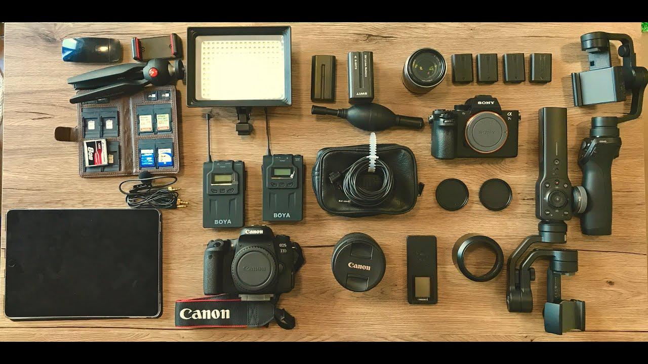معدات التصوير وازاي تبدأ ومحتاج تشتري ايه