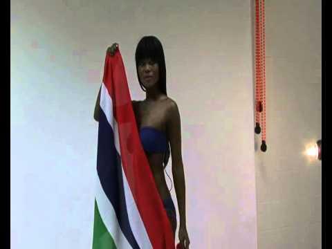 Miss West Africa UK 2010- Teneesha Aiyeola from Gambia