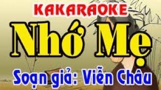 Karaoke vọng cổ NHỚ MẸ - KÉP