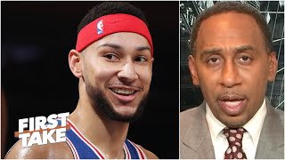 'I love it!' - Stephen A. on Ben Simmons playing power forward exclusively | First Take