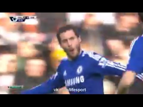 Eden Hazard Goal ~ Hull City vs Chelsea 2:2 ► Premier League 2015