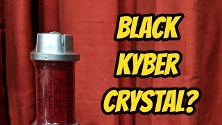Get a Black Kyber Crystal from Galaxy's Edge?