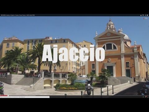 (HD1409) 5 minutes in Ajaccio, Corsica, Corse, France, Europe - GoPro Hero - 2016