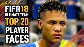 FIFA 18 ULTIMATE TEAM TOP 20 PLAYER FACES w/ RONALDO, MESSI & NEYMAR! thumbnail