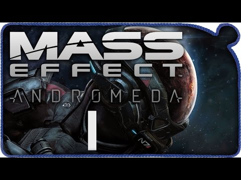 Mass Effect Andromeda | 1 часть | НАЧАЛО | Масс Эффект Андромеда прохождение на русском.