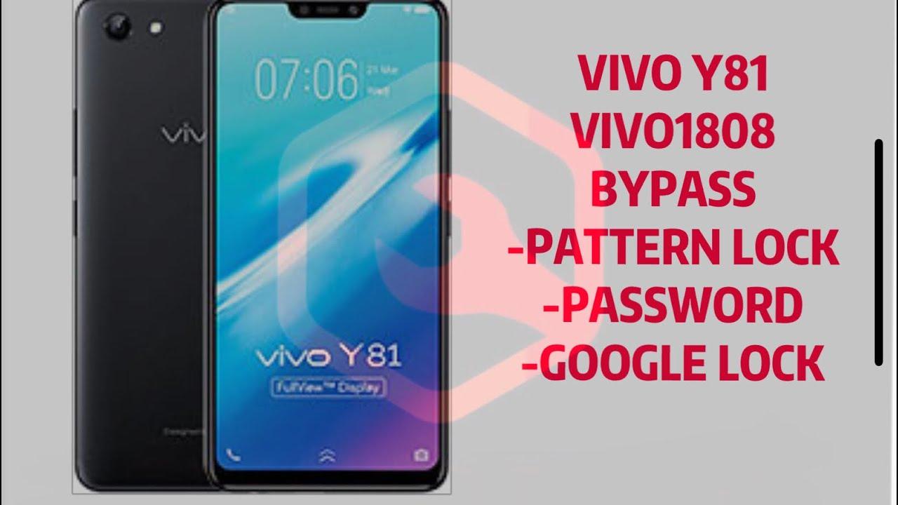 VIVO Y81/vivo1808/vivo1816 frp bypass screen lock/google account BY MRT  DONGLE