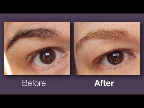 Lighten Up Your Eyebrows YouTube