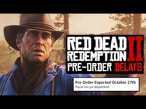 Red Dead Redemption 2 PRE-ORDER DELAYS 'POSSIBLE', MORE EXCLUSIVE PS4 CONTENT REVEALED!