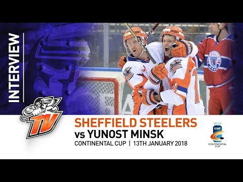 Sheffield Steelers v Yunost Minsk - Post Match Interviews