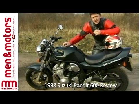 1998 Suzuki Bandit 600 Review