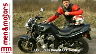 Video 1998 Suzuki Bandit 600 Review download MP3, 3GP, MP4, WEBM, AVI, FLV September 2018