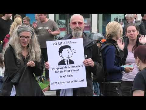 Trotz mehrerer Verbote - Corona-Proteste in Berlin am 28.08.2021