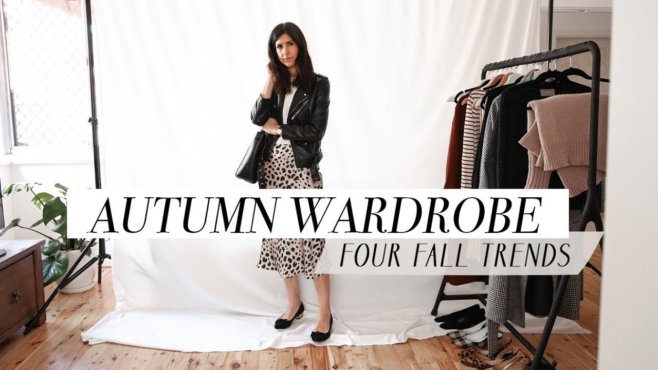 [VIDEO] - AUTUMN/FALL WARDROBE LOOKBOOK - Four Trends & How to Style Them   Mademoiselle 2
