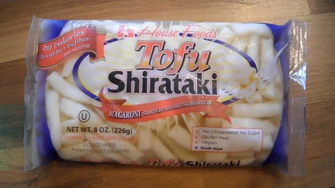 Review House Foods Tofu Shirataki Noodles Macaroni shaped subsitute gluten dairy lactose casein