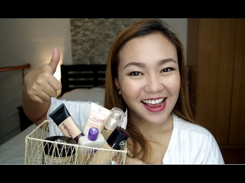 My Top 8 Foundations! (OILY SKIN) | tagalog