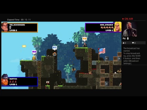 BroForce Game Play |