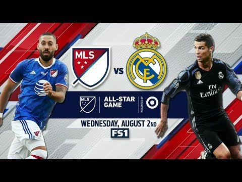 MLS All Stars Vs Real Madrid Highlights Friendly Match 1-1