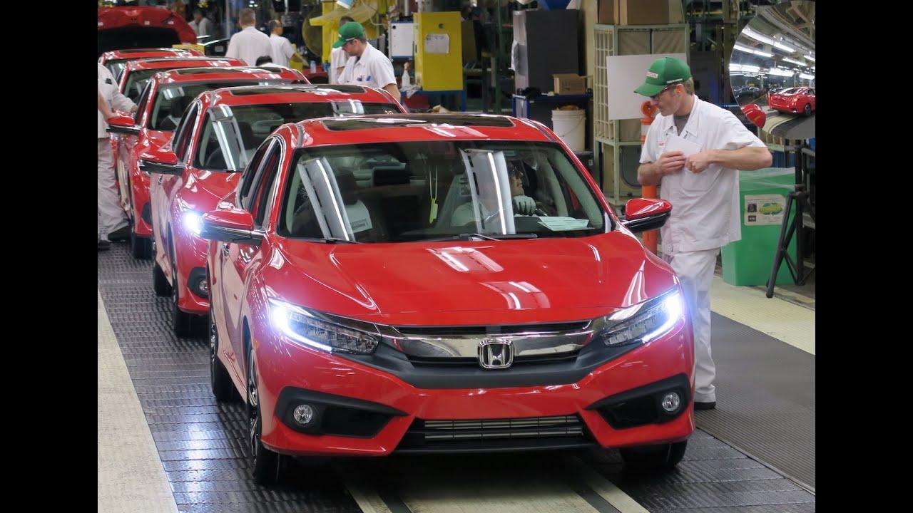 Honda News 104 2016 CIVIC STARTS PRODUCTION